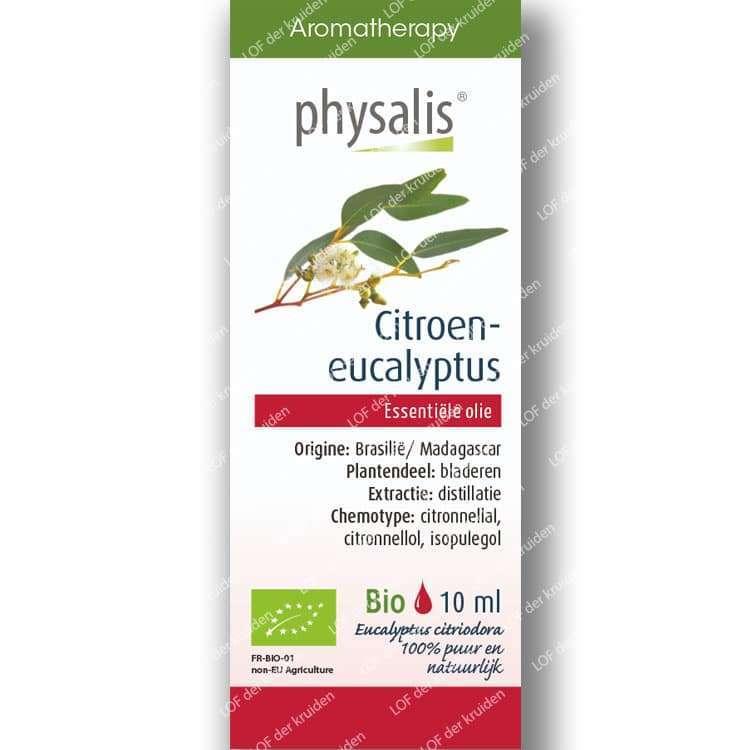 Citroen eucalyptus etherische olie