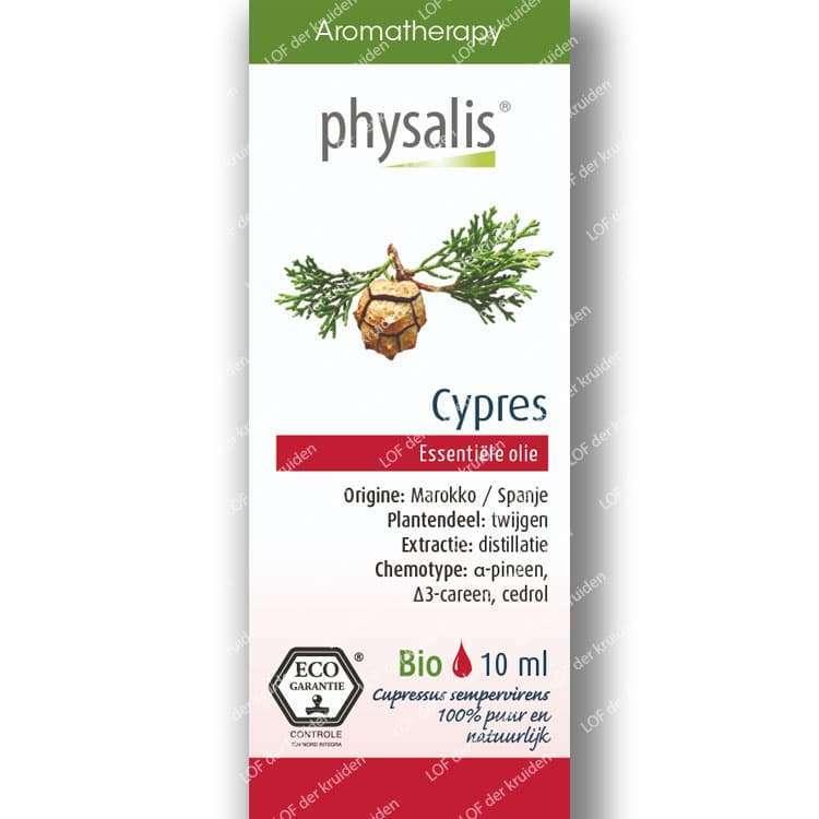 Cypres etherische olie