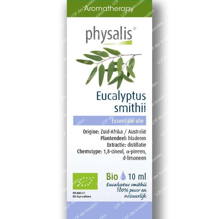 Eucalyptus-Smithii etherische olie
