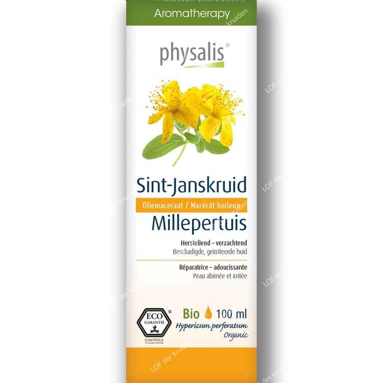 Sint-Janskruid-olie