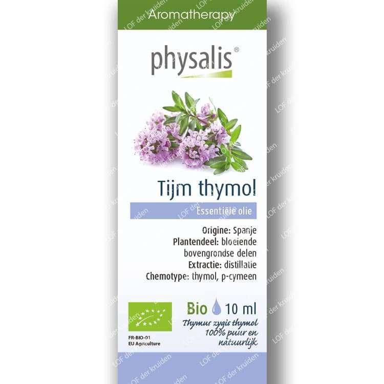 Tijm Thymol etherische olie