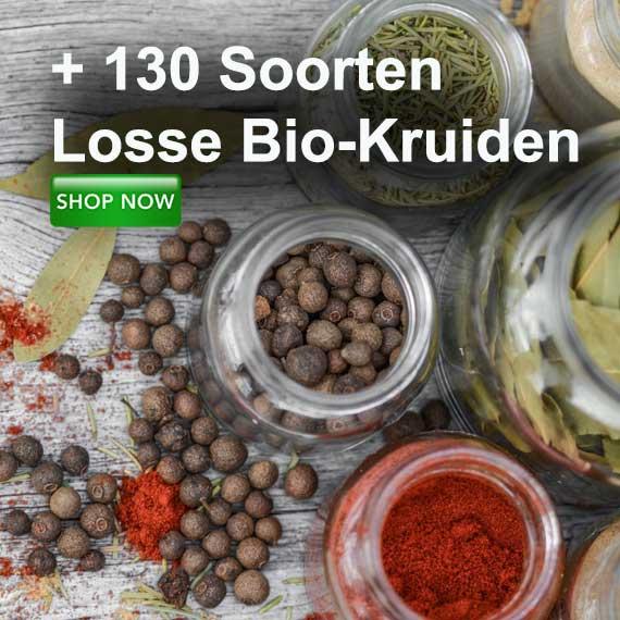biologische kruiden en specerijen